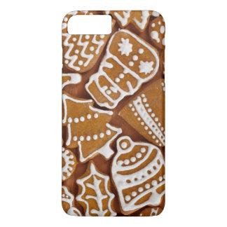 Galletas del día de fiesta del pan de jengibre del funda para iPhone 8 plus/7 plus