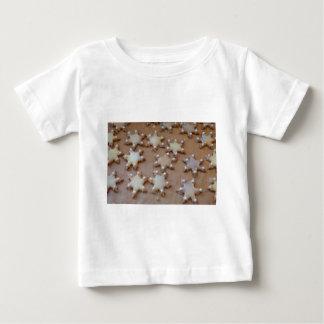Galletas del navidad camiseta de bebé