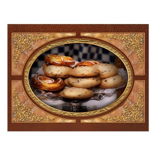 - Galletas - galletas dulces y danés Tarjetas Postales