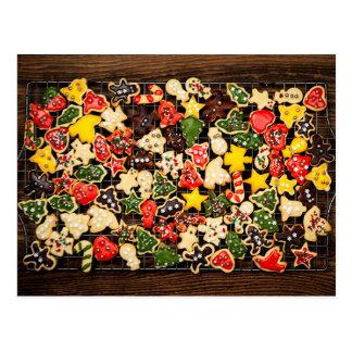 Galletas hechas en casa del navidad