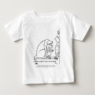 Galletas que ordenan camiseta de bebé