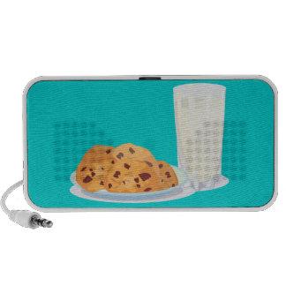 galletas y leche mini altavoz