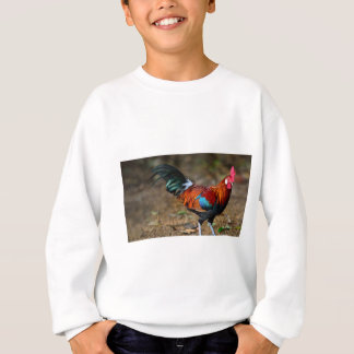 Gallo de la Leghorn de Brown Sudadera