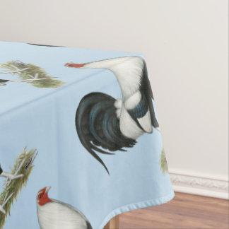 Gallo de pelea de plata de Duckwing Mantel