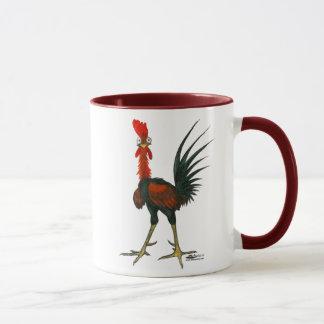 Gallo loco taza