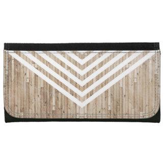 Galón minimalista de madera