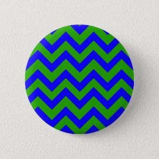 Galones azul marino y verde oscuro chapa redonda de 5 cm