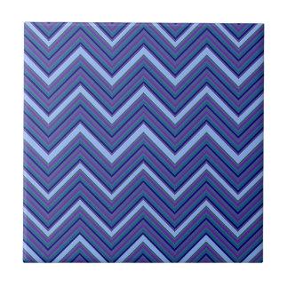 Galones del azul del dril de algodón azulejo cuadrado pequeño