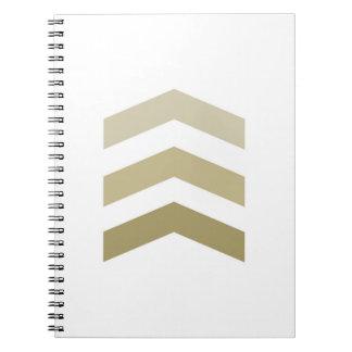 Galones mínimos del oro cuaderno