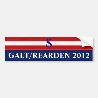 Galt/Rearden 2012 Pegatina Para Coche