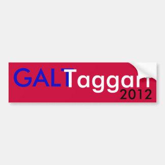 Galt Taggart 2012 Pegatina Para Coche
