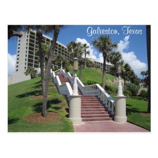 Galveston, postal de Tejas