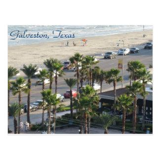Galveston, Tejas Postcard-3 Postal