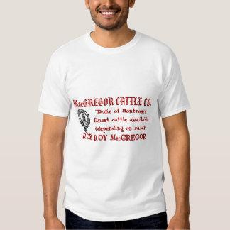 GANADO CO de MacGREGOR Camiseta