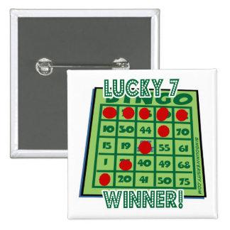 ¡Ganador afortunado del bingo del número 7 del bot Pins