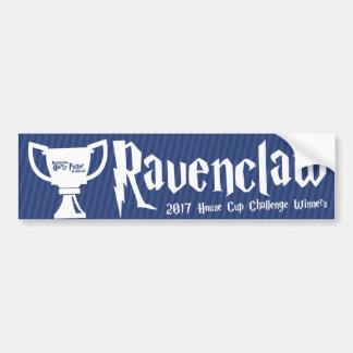 Ganador de la taza de la casa del #Roaravenclaw Pegatina Para Coche