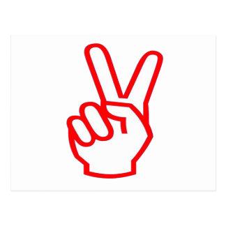 Ganador de la VICTORIA:  Símbolo de la motivación Postal