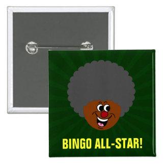 Ganador del premio de la noche del bingo del centr chapa cuadrada