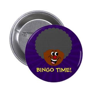 Ganador del premio de la noche del bingo del chapa redonda de 5 cm