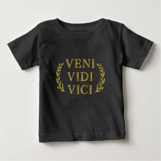 Ganador divertido del juego de Veni Vidi Vici Camiseta De Bebé