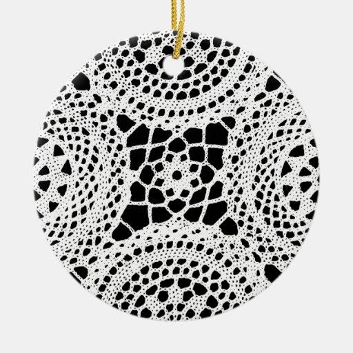 Ganchillo Ornamento Para Arbol De Navidad