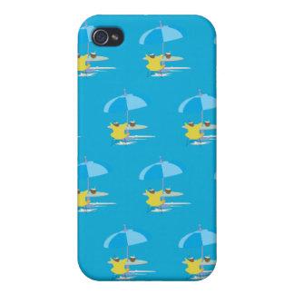 Gandulear el azul iPhone 4/4S carcasa