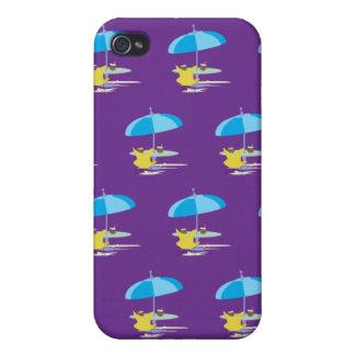 Gandulear púrpura iPhone 4/4S carcasas