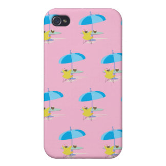 Gandulear rosa iPhone 4 protectores
