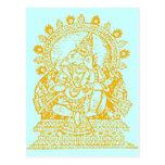 Ganesh: Dios del éxito Postal
