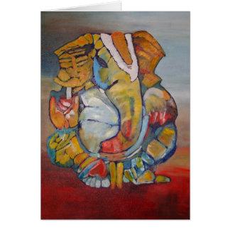 Ganesha 01 tarjeta pequeña