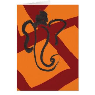 Ganesha 02 tarjeta pequeña
