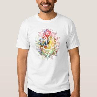 ganesha color1 camiseta