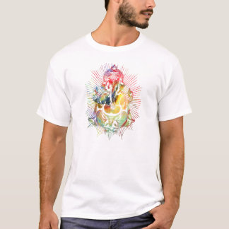 ganesha color1 camiseta