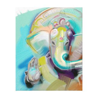 Ganesha - elefante Buda - impresión del arte en