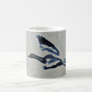 Ganso azul taza de café