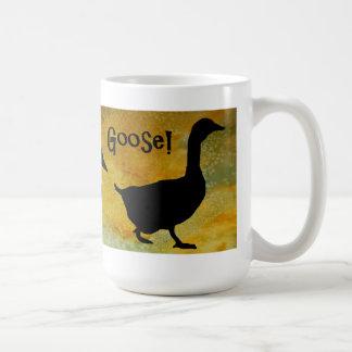 ¡Ganso del pato del pato! Taza De Café