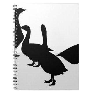 Gansos Cuaderno
