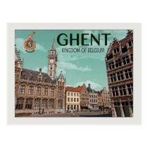 Gante - Korenmarkt Postal