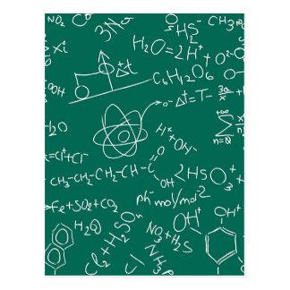 Garabatos de la química postal