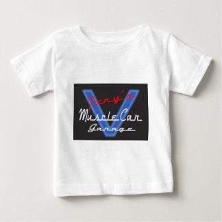 GARAJE del COCHE del MÚSCULO de Tony Camiseta De Bebé