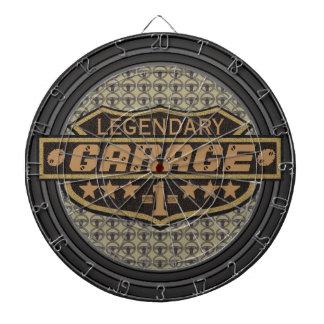Garaje legendario personalizado tabla dardos
