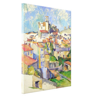 Gardanne (Aix-en-Provence) Paul Cézanne Impresión En Lona