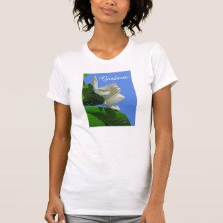 Gardenia hawaiano camisetas