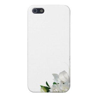 Gardenias del boda iPhone 5 carcasa