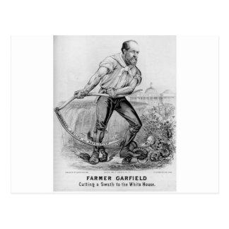 Garfield 1880 postal