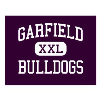 Garfield - dogos - alto - comercio California Tarjetas Postales