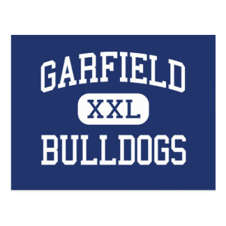 Garfield - dogos - alto - Los Ángeles Postal
