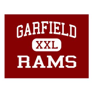 Garfield - espolones - High School secundaria - Postal