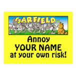 Garfield Logobox me molesta las postales