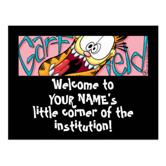 Garfield Logobox pocas postales de la esquina